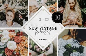 New Vintage Lightroom Preset Bundle 5251230 5