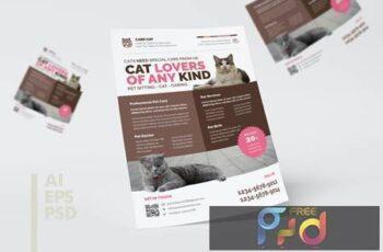 Pet Shop Flyer Design 9Q5CAUR 2