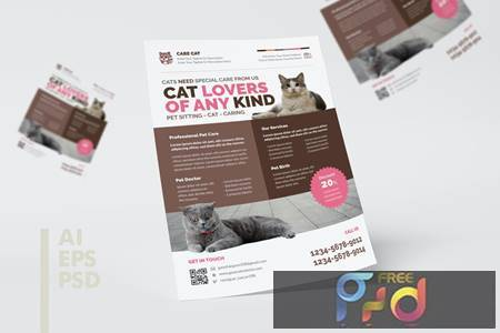 Pet Shop Flyer Design 9Q5CAUR 1