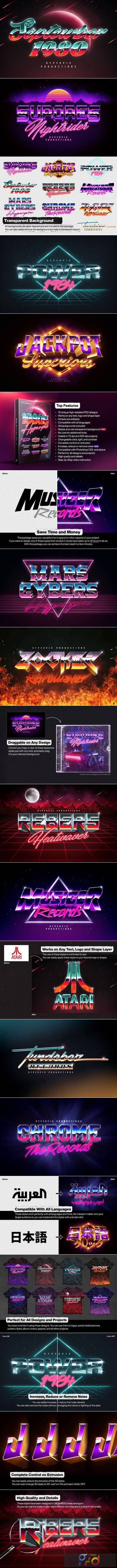 80s Text and Logo Effects Vol.5 5226111 1