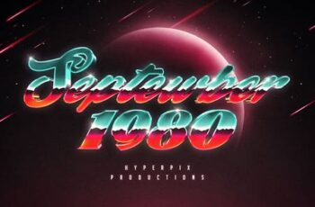80s Text and Logo Effects Vol.5 5226111 15