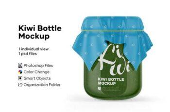 Kiwi Bottle Mockup 5224093 6