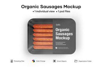 Organic Sausages Mockup 5242216 2