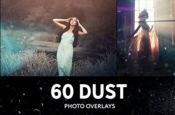 60 Floating Dust Photo Overlays 27795200 3