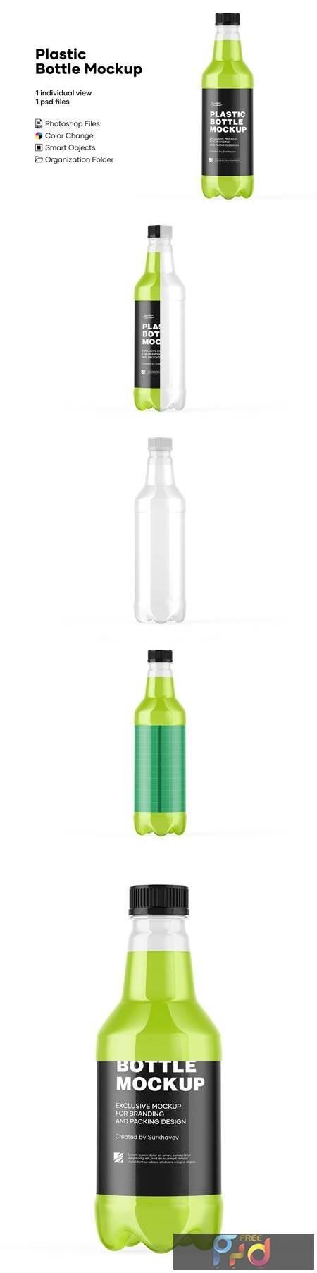 Plastic Drink Bottle Mockup 5242149 1