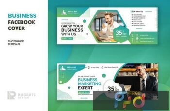Business r11 Facebook Cover Template 245W4NR 13