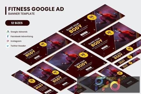 Fitness Google AD Template RWY2ACG 1