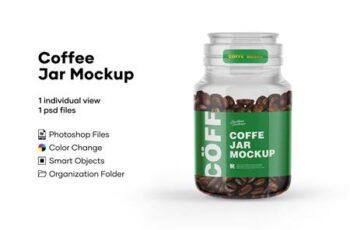 Coffee Jar Mockup 5224028 6