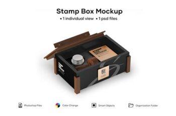 Stamp Box Mockup 5224118 7