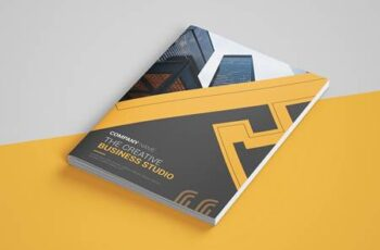 Abstract Bi-fold Brochure 4473001 5