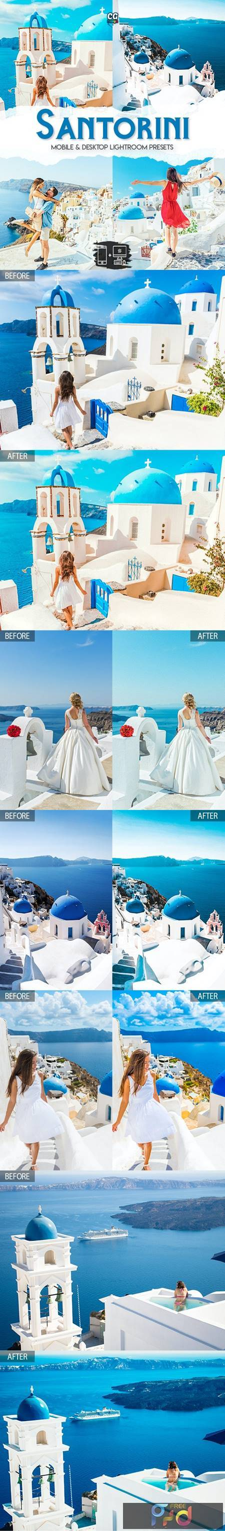 Santorini - 15 Premium Lightroom Presets 27933164 1