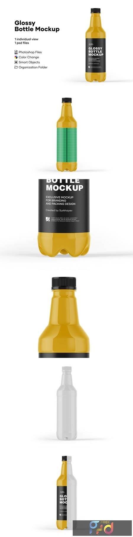 Glossy Bottle Mockup 5242097 1
