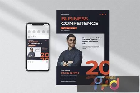 Businnes Conference Flyer K3HQKSE 1