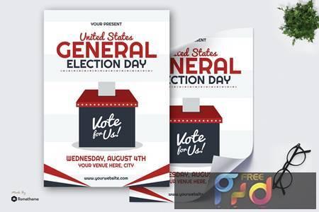 General Election Day - Poster GR LR9TU4Z 1