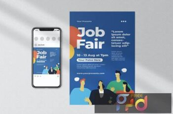 Job Fair Flyer MY95A4J 7