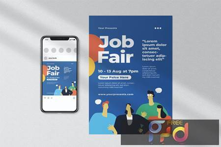 Job Fair Flyer MY95A4J 1