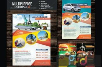 Multipurpose Flyer Template V6 H52PDXZ 7