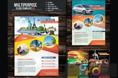 Multipurpose Flyer Template V6 H52PDXZ 1