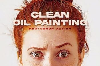 Clean Oil Painting Photoshop Action 26983539 10