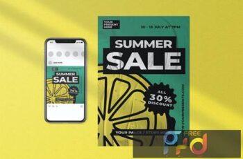 Summer Sale Flyer FB97853 4