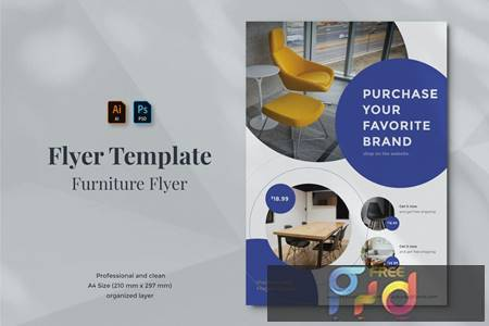 Vurnies - Furniture Flyer Template 22 3XKVK6U 1