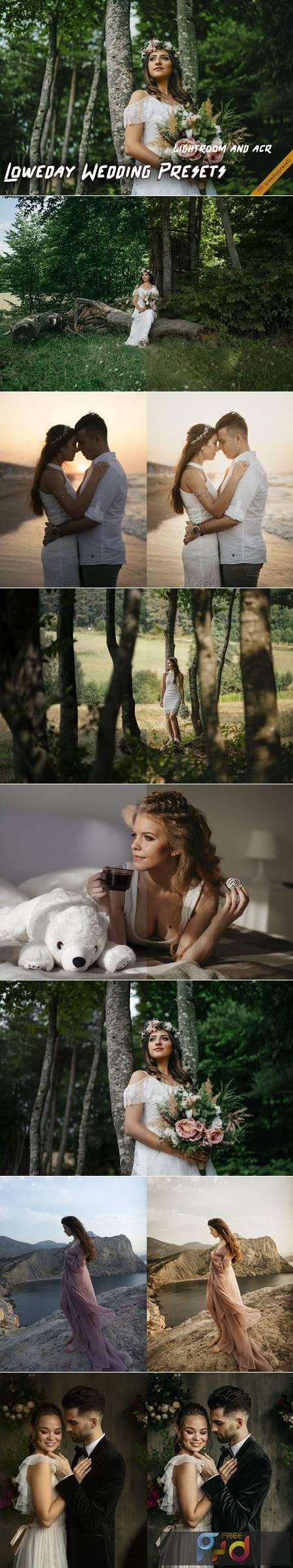 Loweday Wedding Presets - LR and ACR 4775119 1