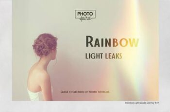 Rainbow Light Leaks Overlays 5294451 4