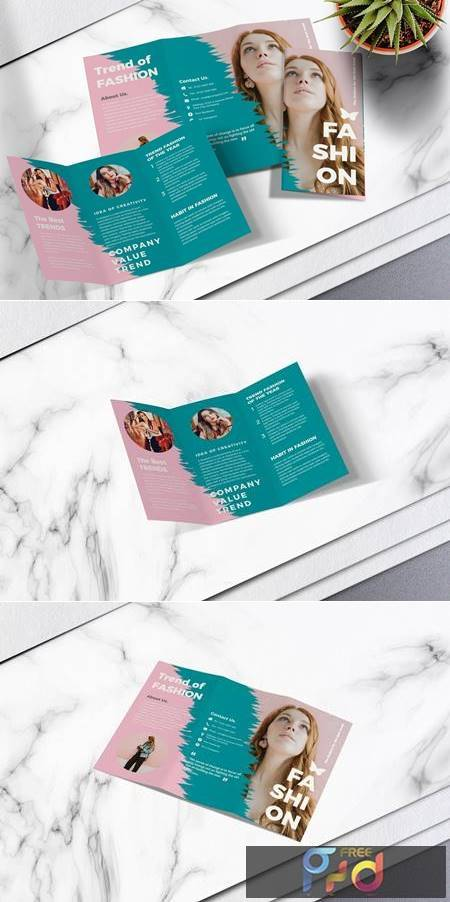 Fashion Trifold Brochure Vol.01 UJ4CN8Z 1