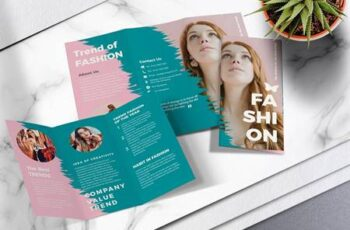 Fashion Trifold Brochure Vol.01 UJ4CN8Z 14