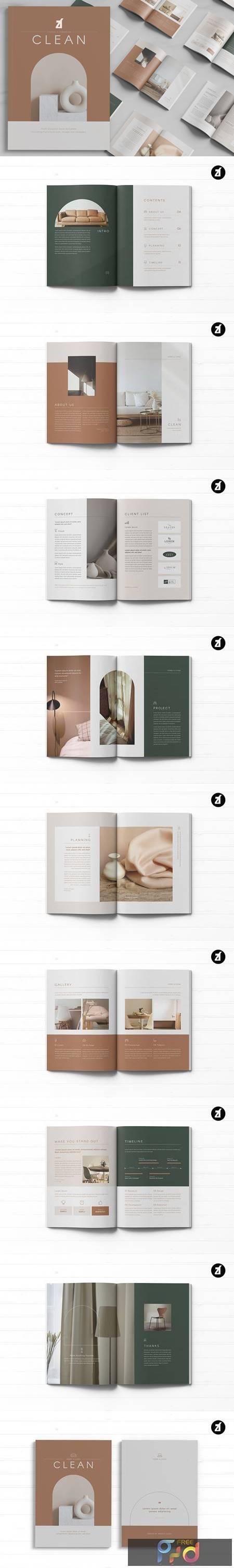 Clean magazine multi-purpose book 5241581 1
