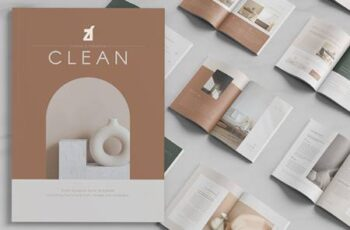 Clean magazine multi-purpose book 5241581 4