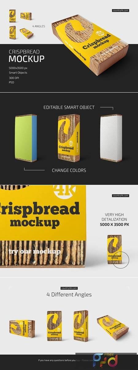 Crispbread Mockup Set 5252731 1
