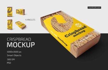 Crispbread Mockup Set 5252731 4
