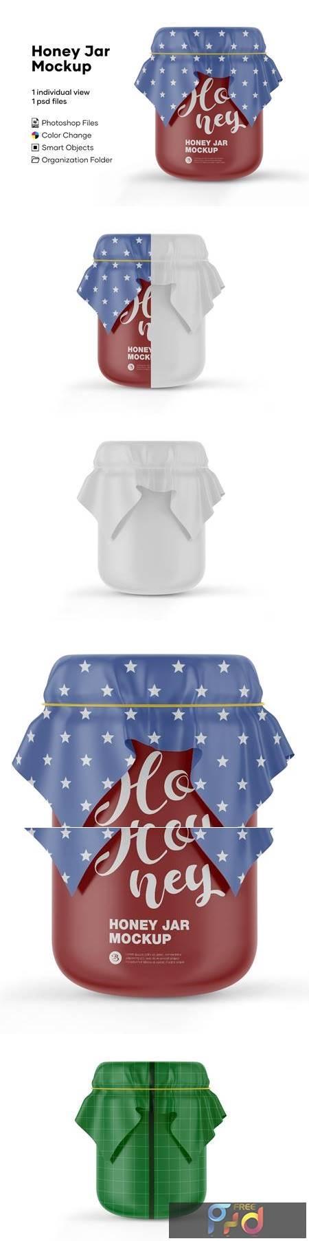 Honey Jar Mockup 5175585 1