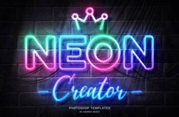 Neon Wall Sign Templates 27858499 3