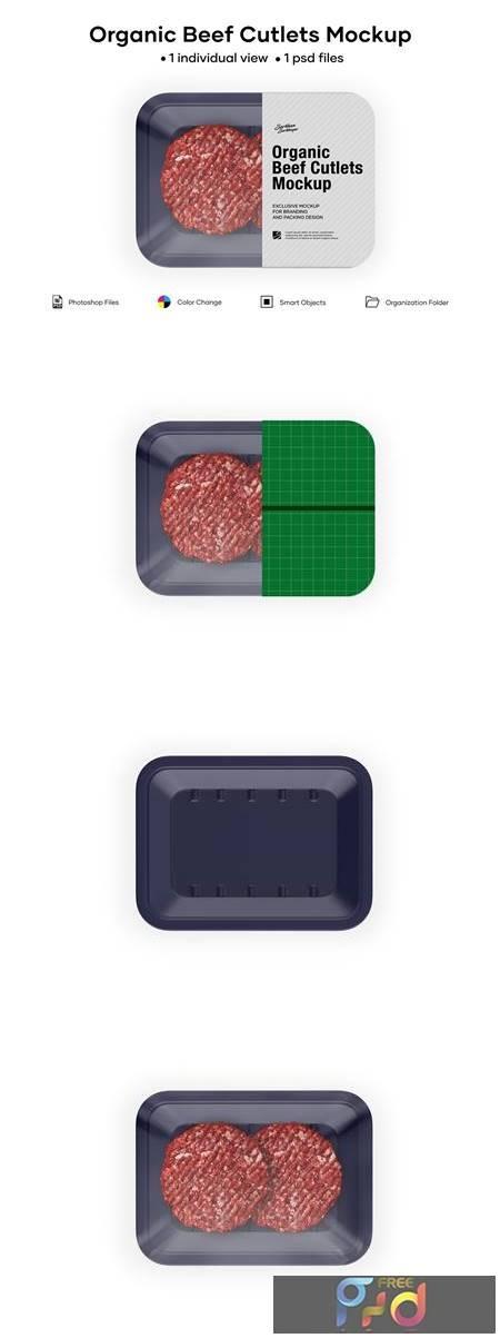 Organic Beef Cutlets Mockup 5242220 1