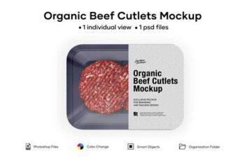 Organic Beef Cutlets Mockup 5242220 5