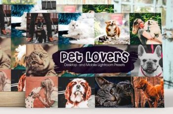 Pet Lovers Lightroom Presets 5192321 4