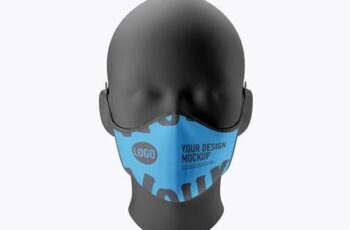 Medical face Mask mockup 5224041 6