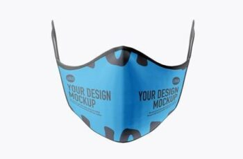 Medical face Mask mockup 5239618 3