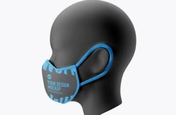 Medical face Mask mockup 5239620 5