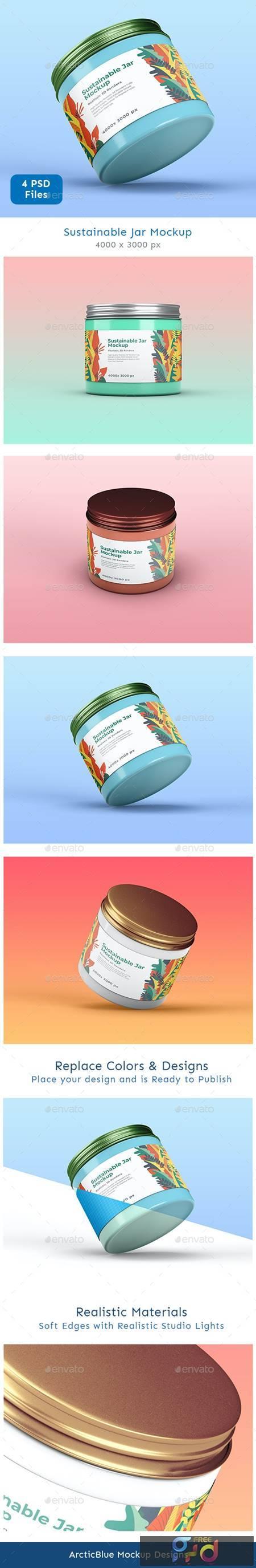 Sustainable Jar Mockup 26477469 1