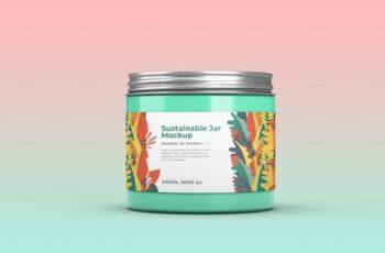 Sustainable Jar Mockup 26477469 5