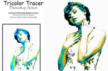 Tricolor Tracer Photoshop Action 5209958 13
