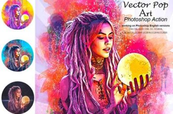 Vector Pop Art Photoshop Action 5210140 3