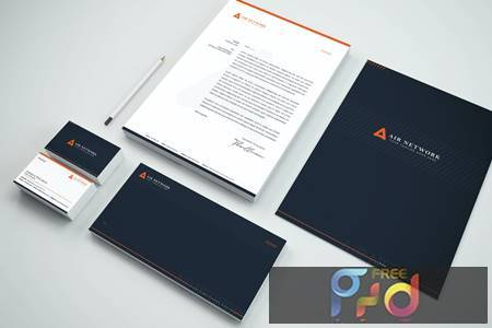 Business Branding Identity & Stationery Pack XBC425T 1