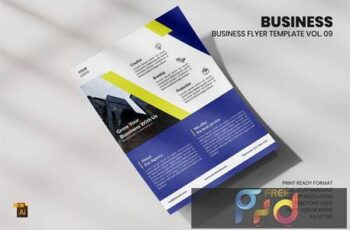 Business Flyer Template Vol. 09 CXHFHUQ 3