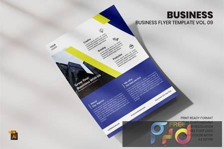 Business Flyer Template Vol. 09 CXHFHUQ 1