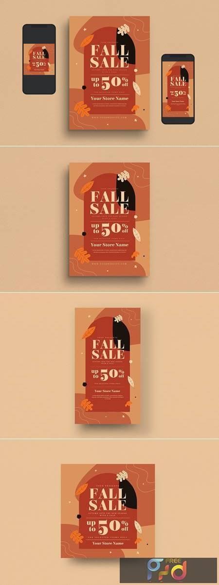 Fall Sale Flyer Set G2DXJEC 1