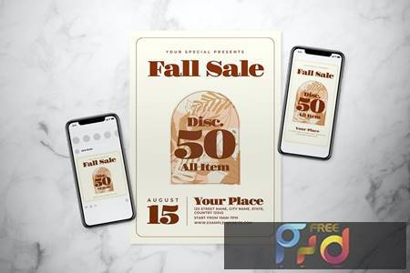 Fall Sale Flyer Set 4FGTJW7 1